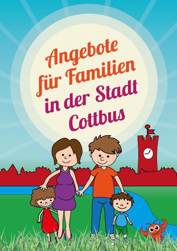 Broschüre Angebote für Familien in der Stadt Cottbus