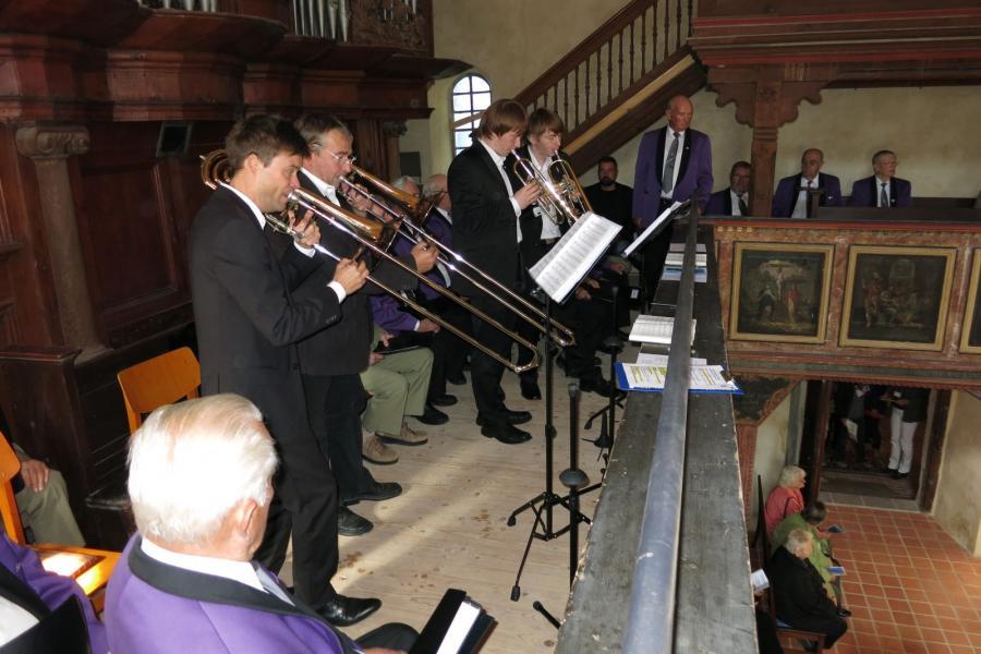 Auftritt  Compenius Quartett