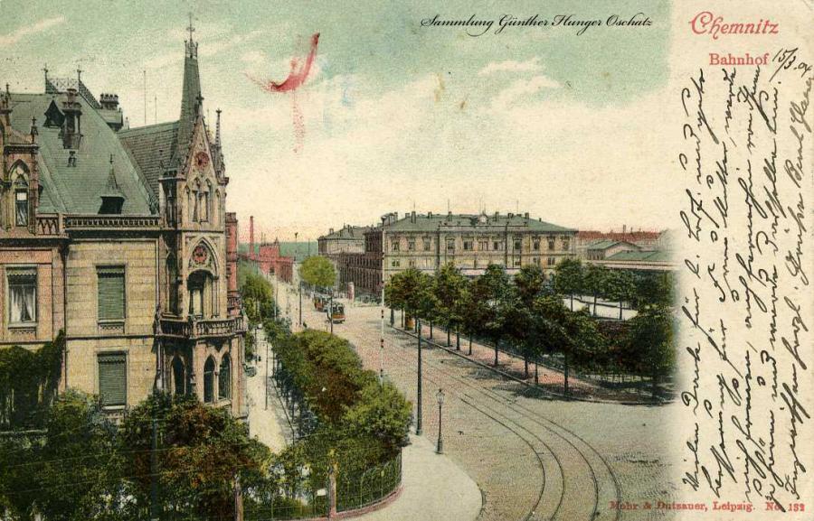 Chemnitz Bahnhof