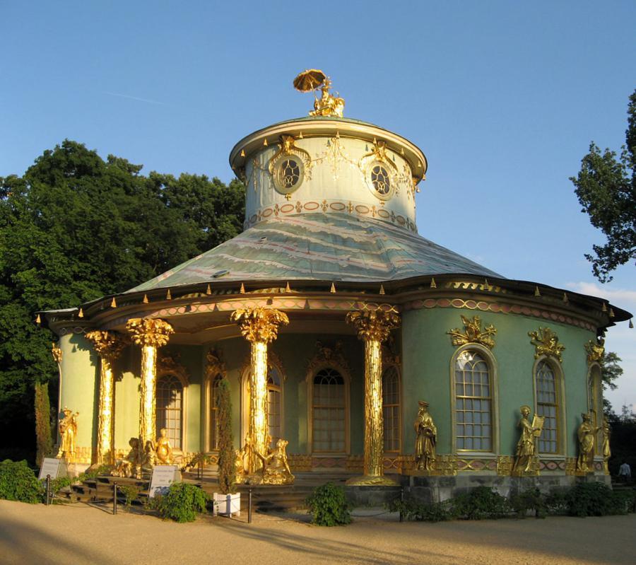 Das Chinesische Teehaus im Park Sanssouci
