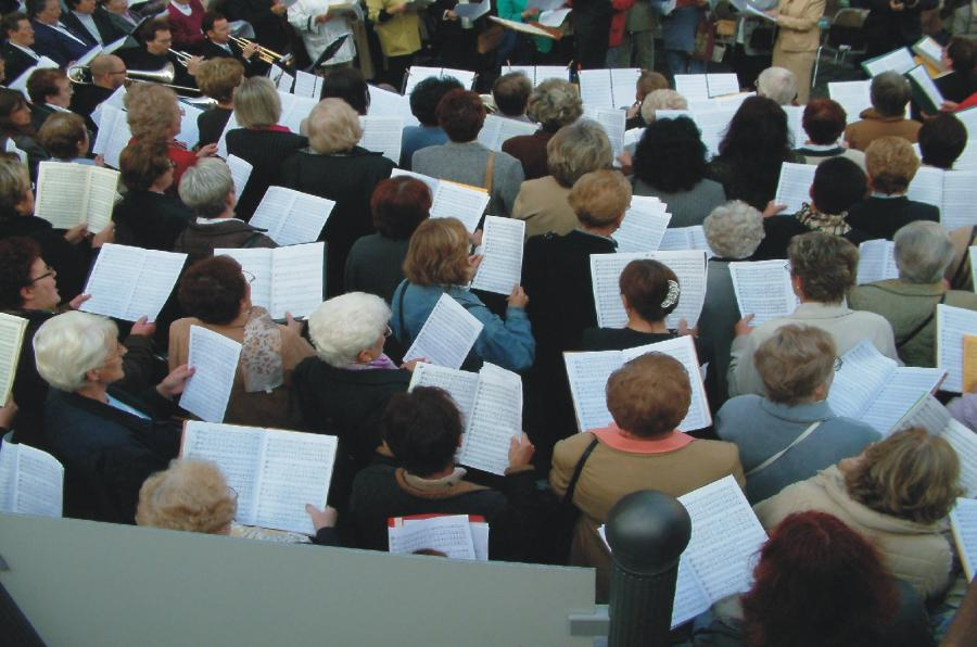 Chor, Foto: Burkard Vogt, pixelio.de