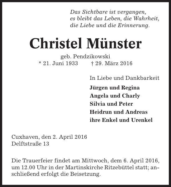 Christel Münster