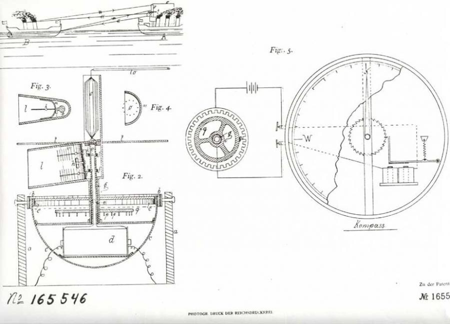 Patent Ur-Radar 1904 - Detail