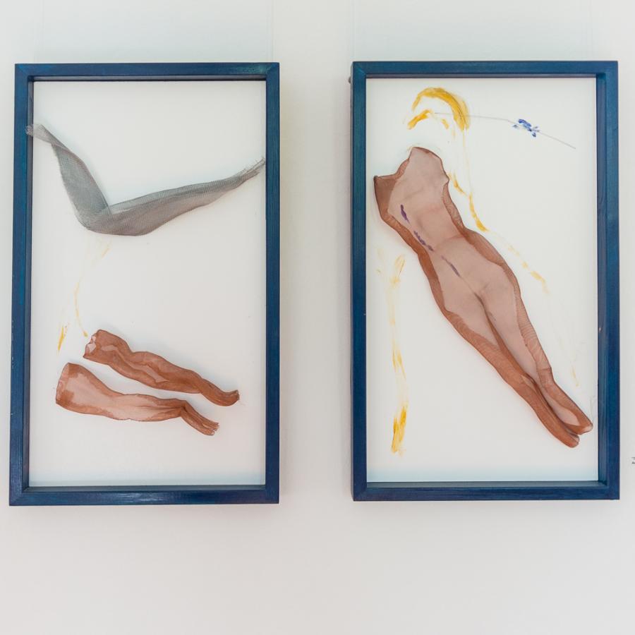 Christine Przybilski, Gitter und Netze 2018 Foto: MuseumOSL