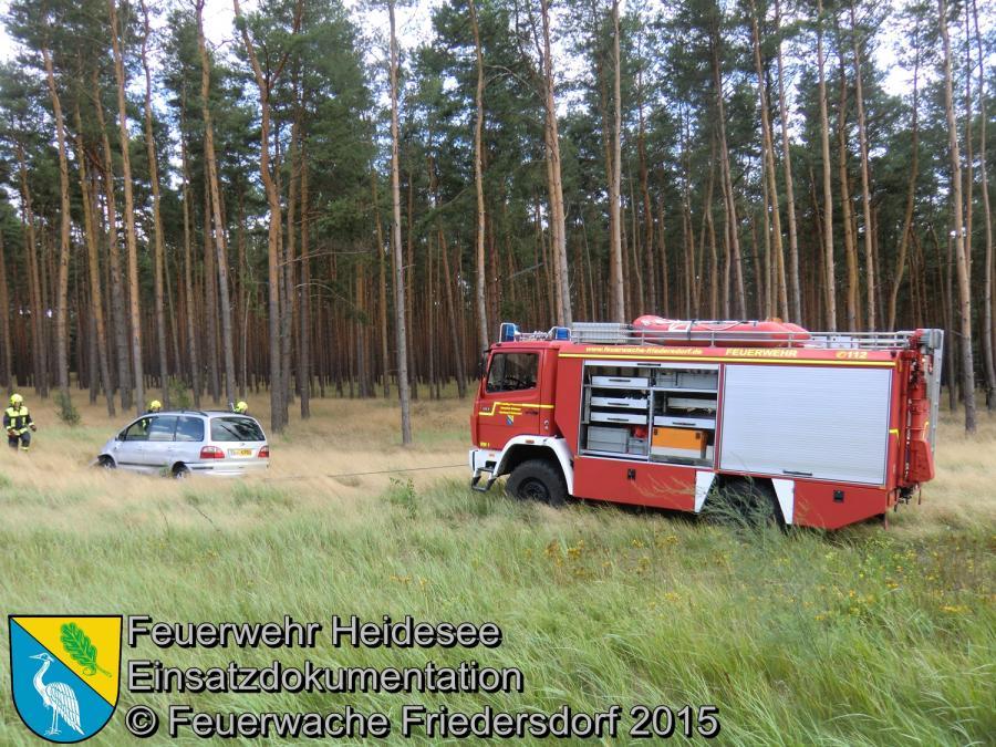 Einsatz 125/2015 Verkehrsunfall BAB 12 > FF/O 28.07.2015