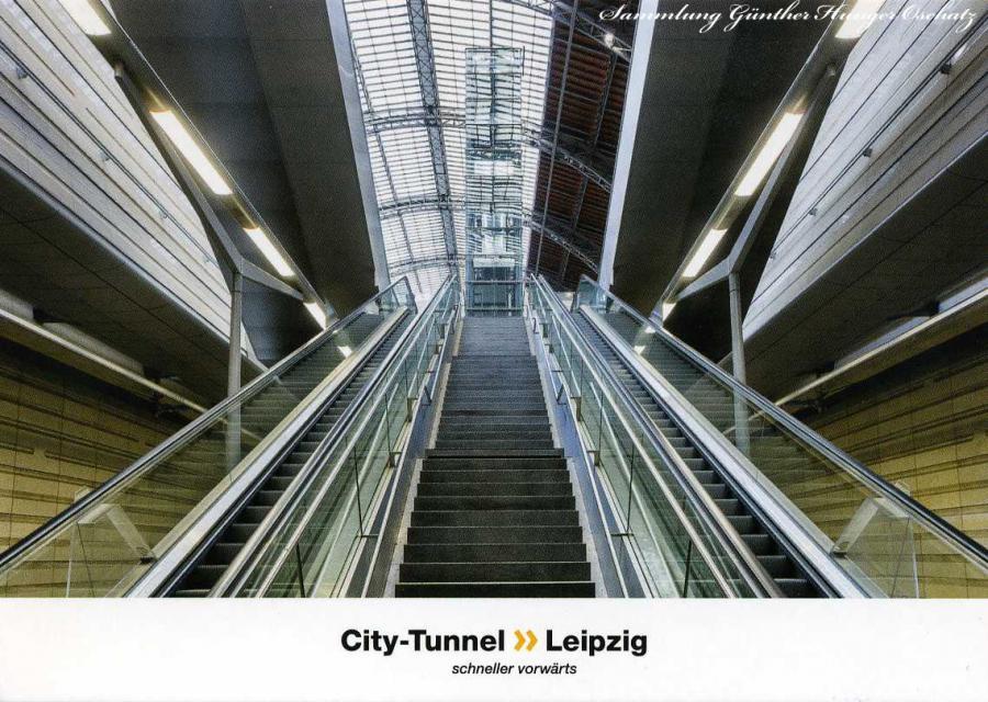 City-Tunnel Leipzig Station Hauptbahnhof