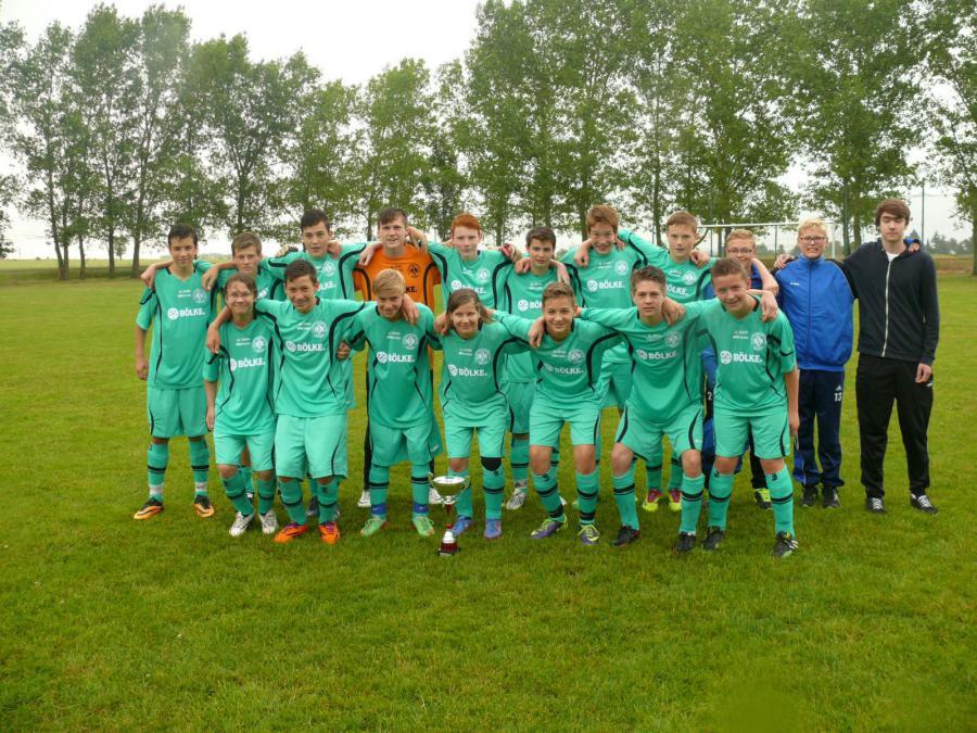 C-Junioren-Kreispokalsieger 2014