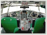 Cockpit IL-18 Borkheide