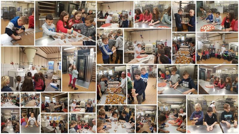 Collage Bäckereibesuch