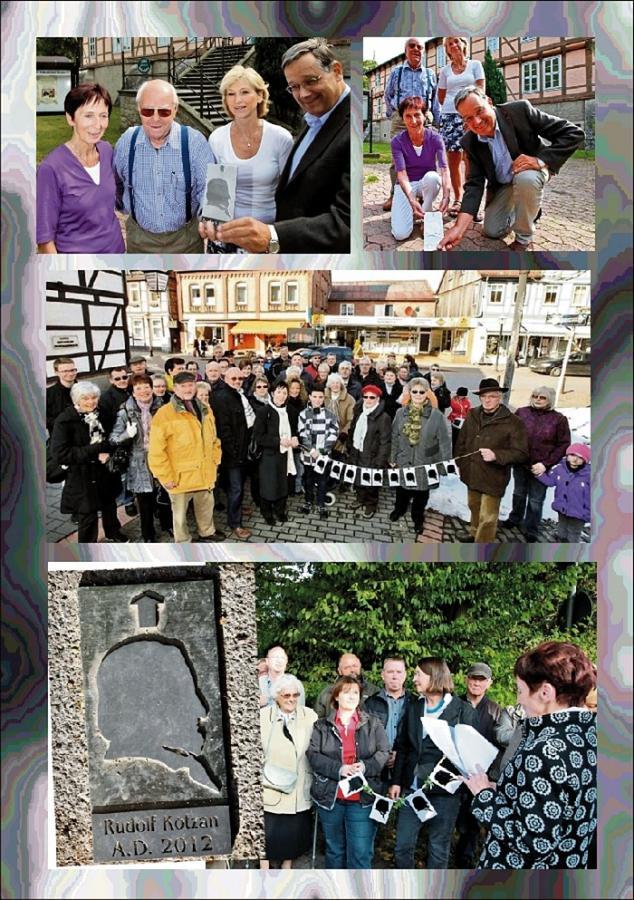 Fotocollage vom Historischen Pfad Fallersleben