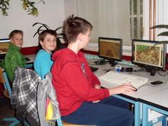 Computer und Internet-Plätze