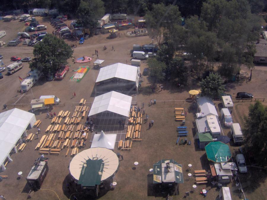 Der Festplatz 2006