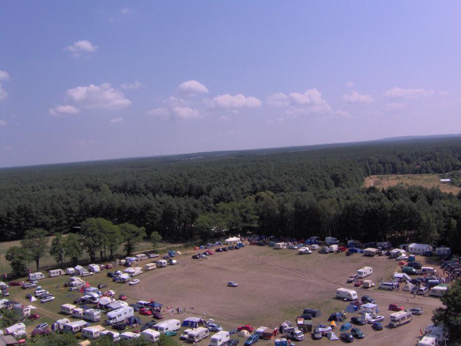 Der Campingplatz 2006