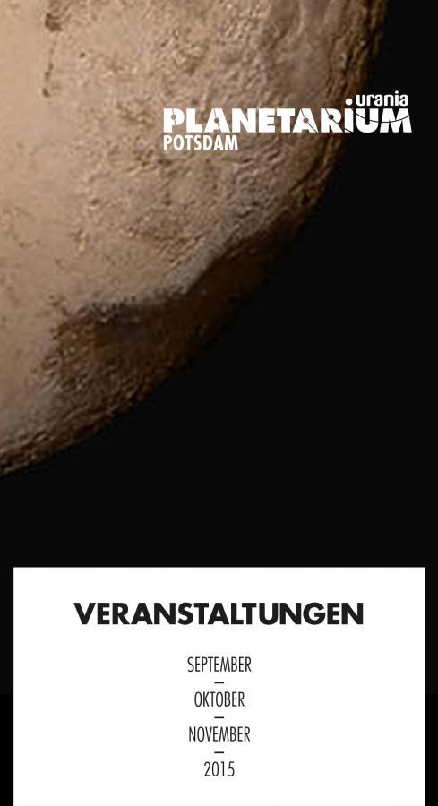 Planetarium Herbst 2015