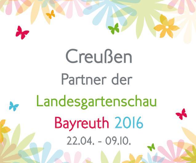 Creußen - Partner der Landesgartenschau 2016