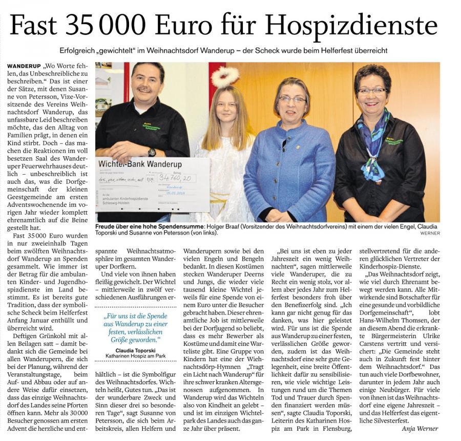 Tagesblatt 11.01.2018