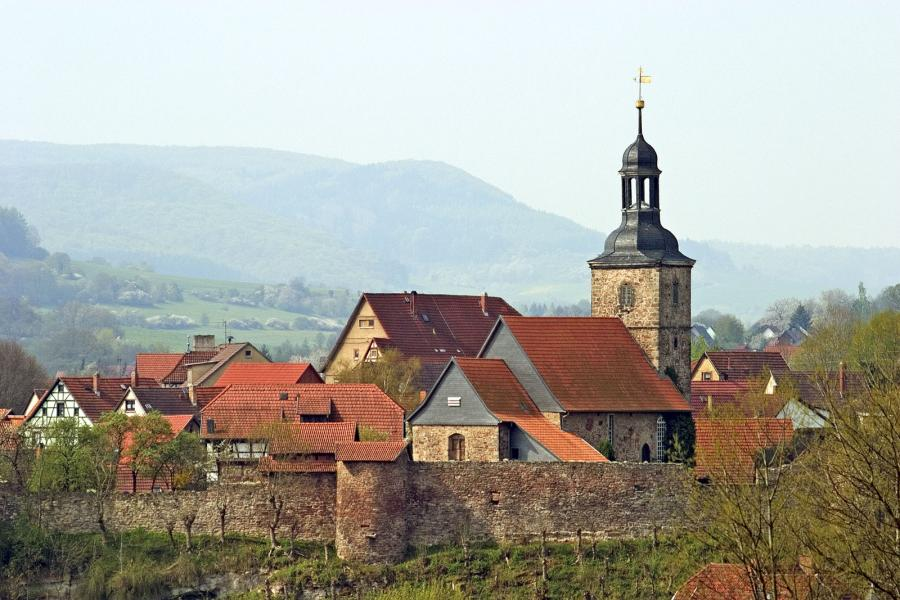 Kirchenburg Walldorf