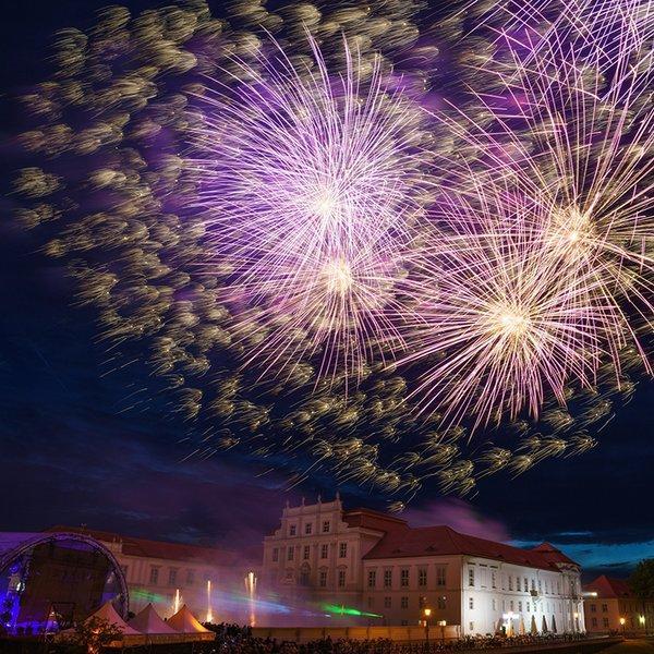 800 Jahre Oranienburg – Feuerwerk (Foto: Andreas Herz)