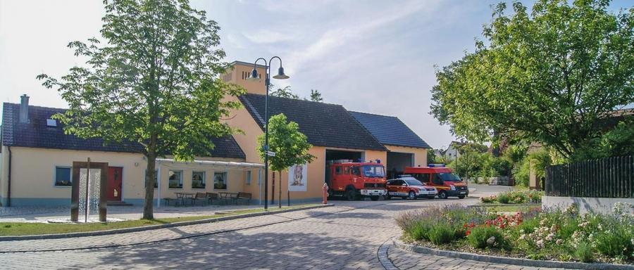 Feuerwehrgerätehaus Dormitz im Frühjahr 2012