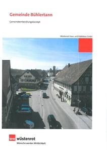 Gemeindeentwicklungskonzept Bühlertann