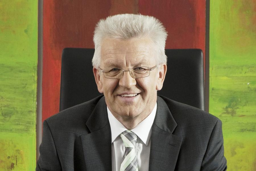 Ministerpräsident Winfried Kretschmann, MdL