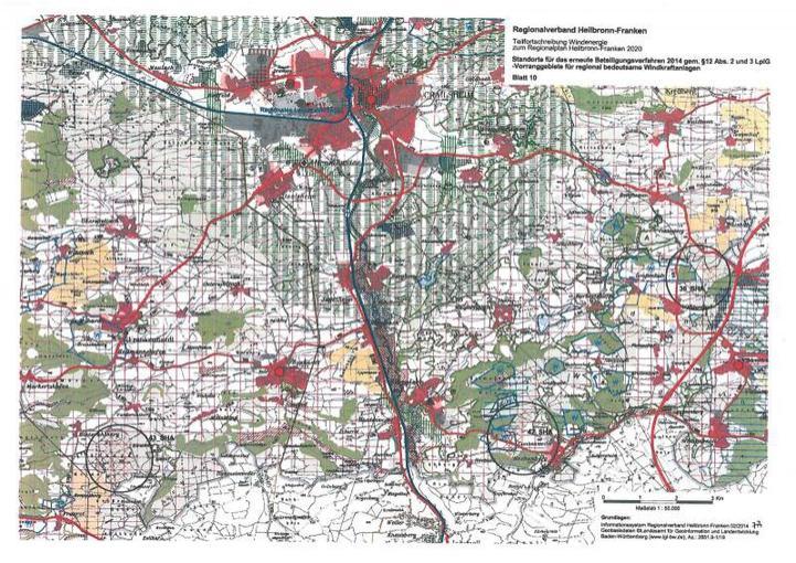 Regionalplan Heilbronn-Franken 2020
