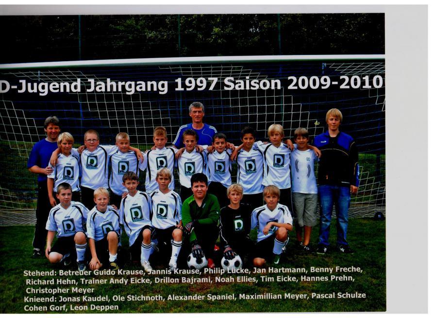D-Jugend 2009 - 2010
