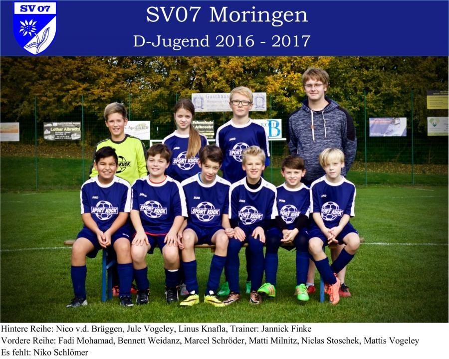 D-Jugend 2016 - 2017