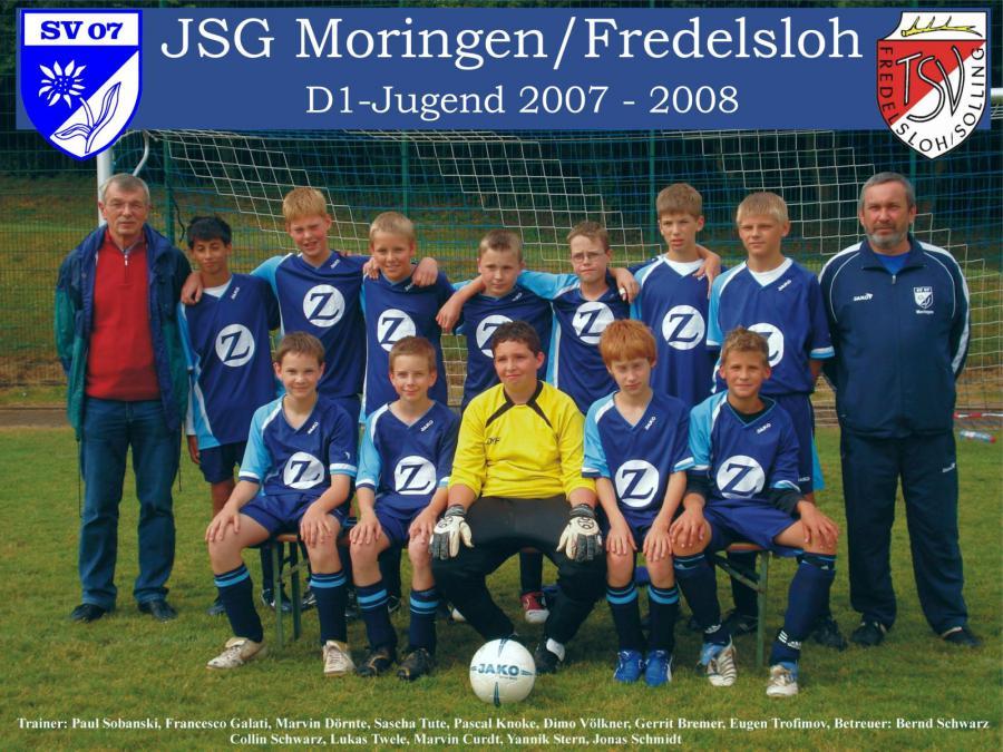 D1-Jugend 2007 - 2008