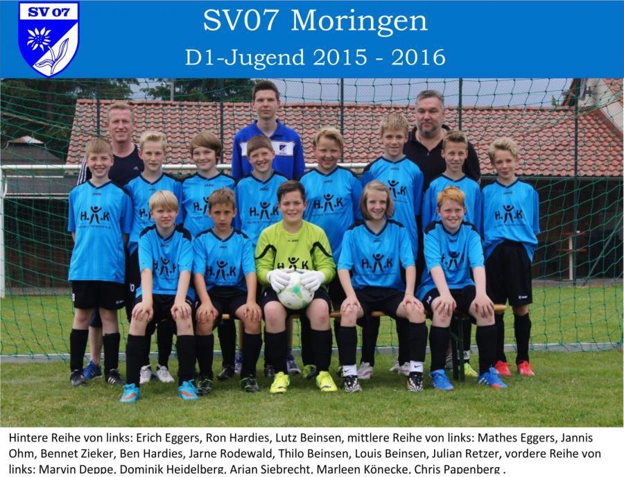 D1-Jugend 2015-2016