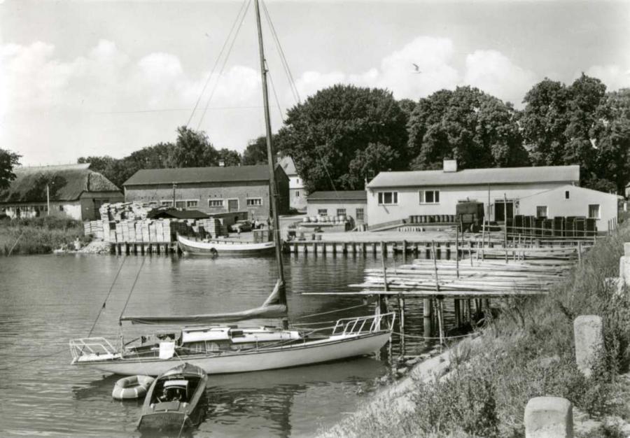 Ummanz Hafen Waase 1984