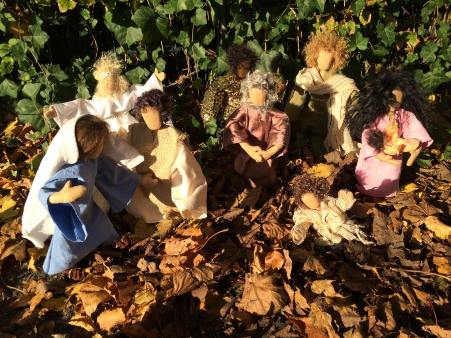 Biblische Figuren der Litjen Skoule Skäddel