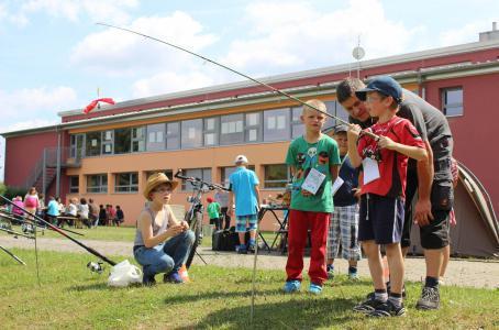 Schulfest 2014 Angler