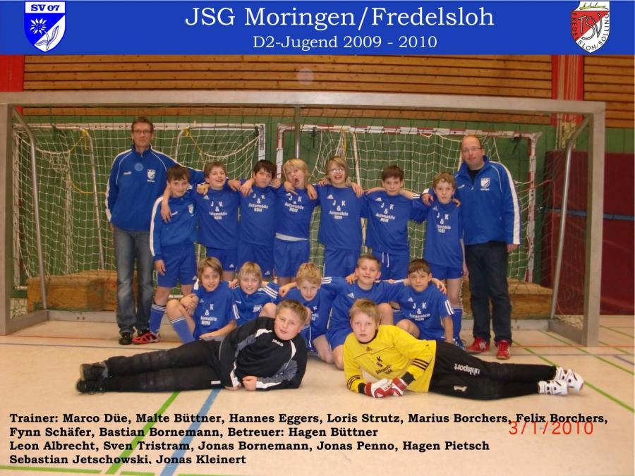 D2-Jugend 2009 - 2010