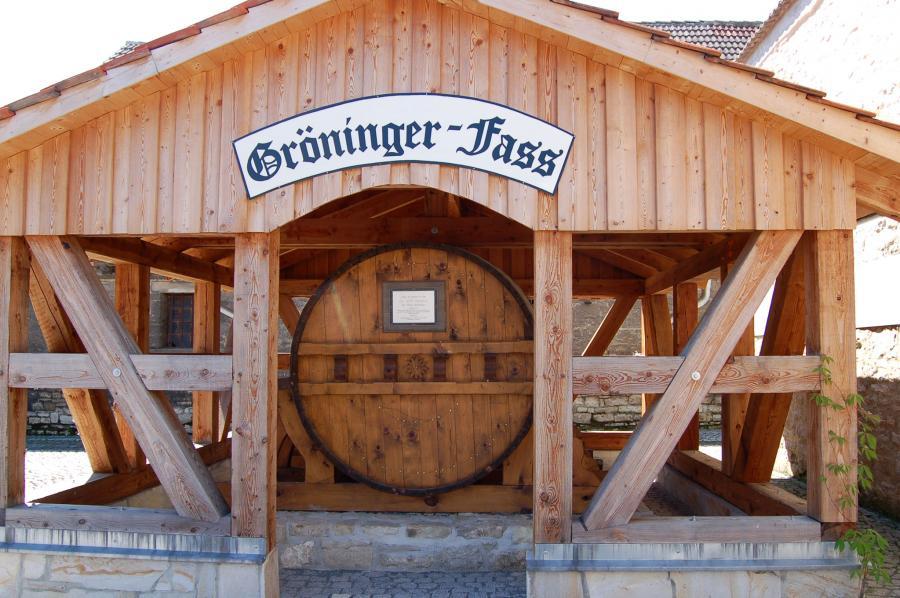 Gröninger Weinfass
