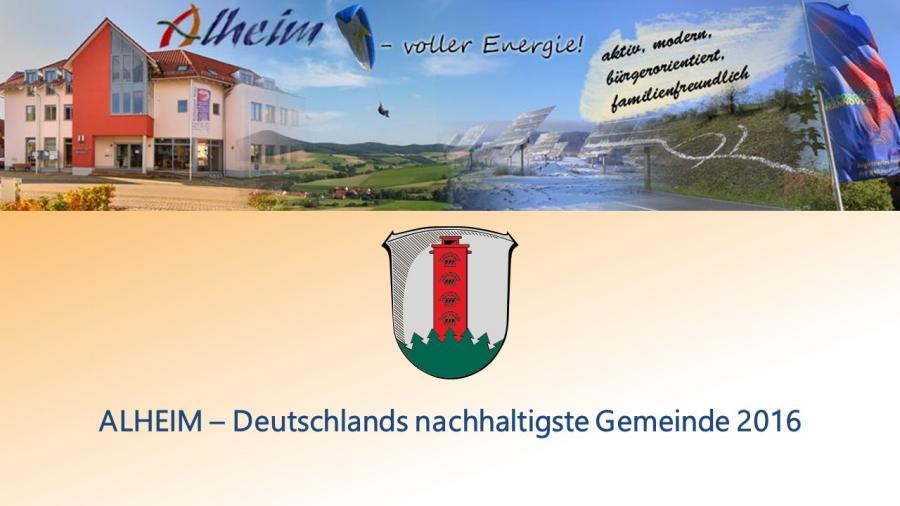 Präsentation Alheim - voller Energie