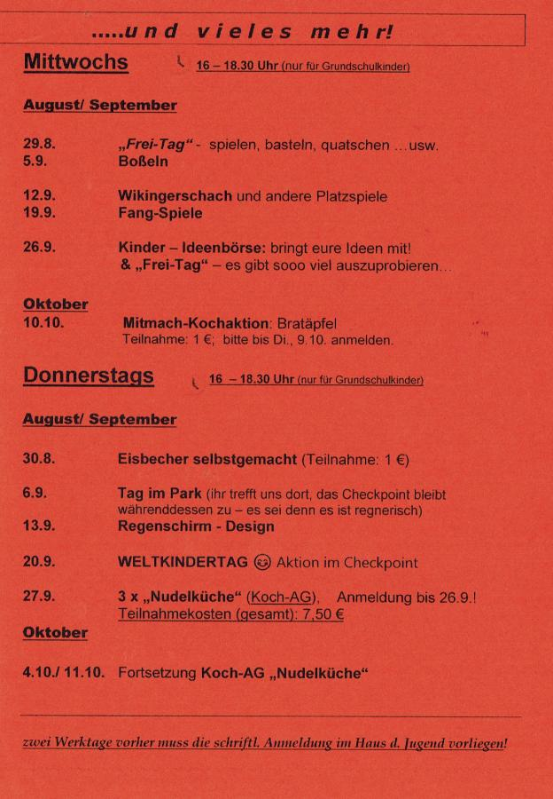 Programmseite 3