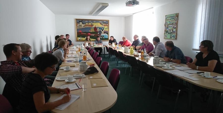 Vorstandssitzung am 19. September 2018