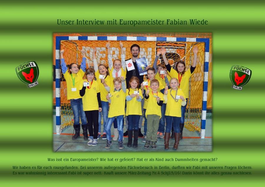 Unser Interview mit Fabi Wiede