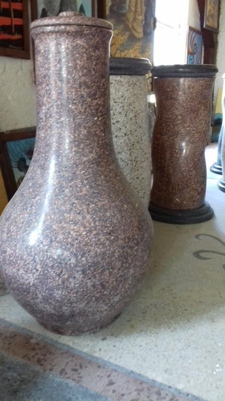 Vase2018 Terrazzoh= 100cm