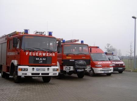 Einsatzfahrzeuge 2011