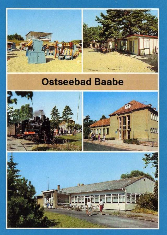 Ostseebad Baabe 1988