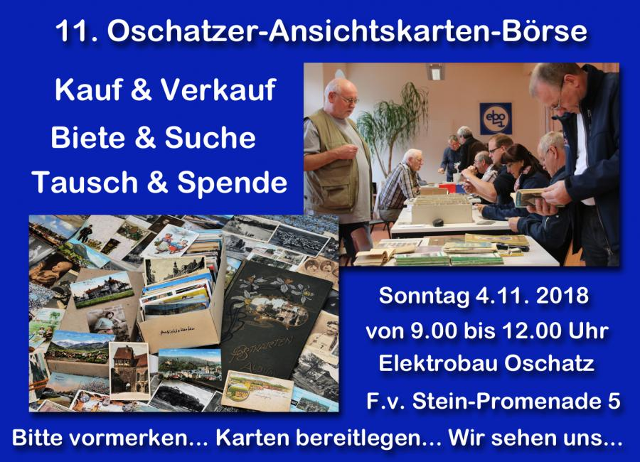 11.Oschatzer-Ansichtskarten-Tauschbörse