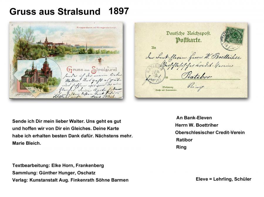 Gruss aus Stralsund 1897