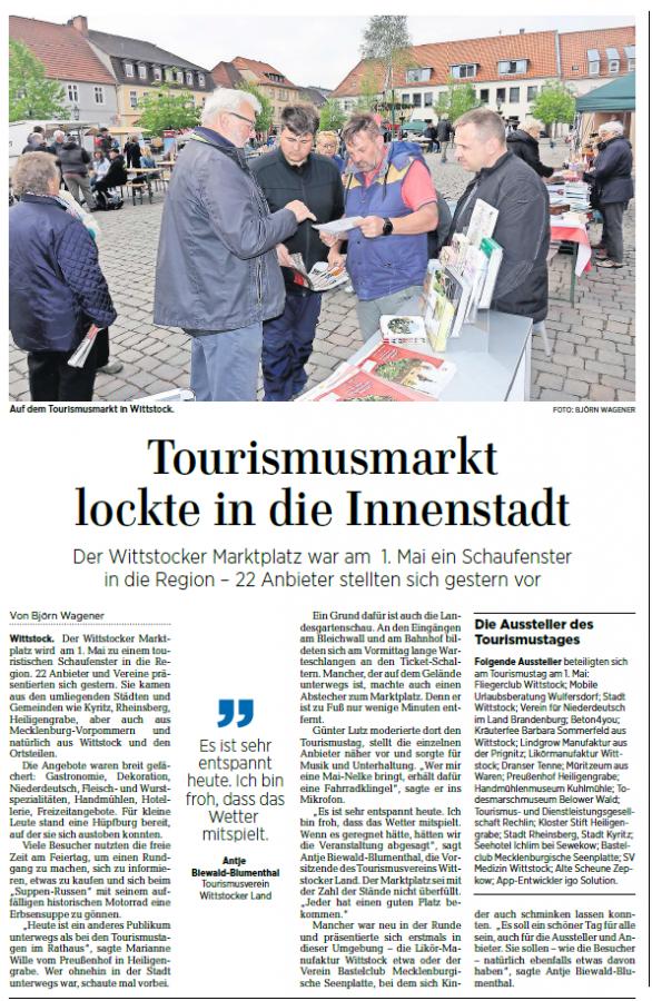 Tourismusmarkt