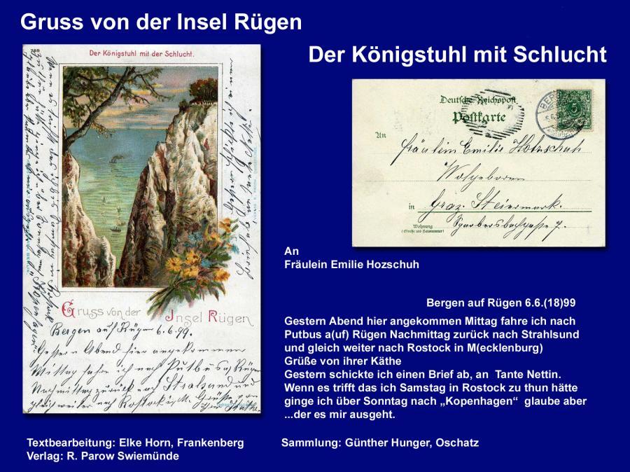 Gruss von der Insel Rügen