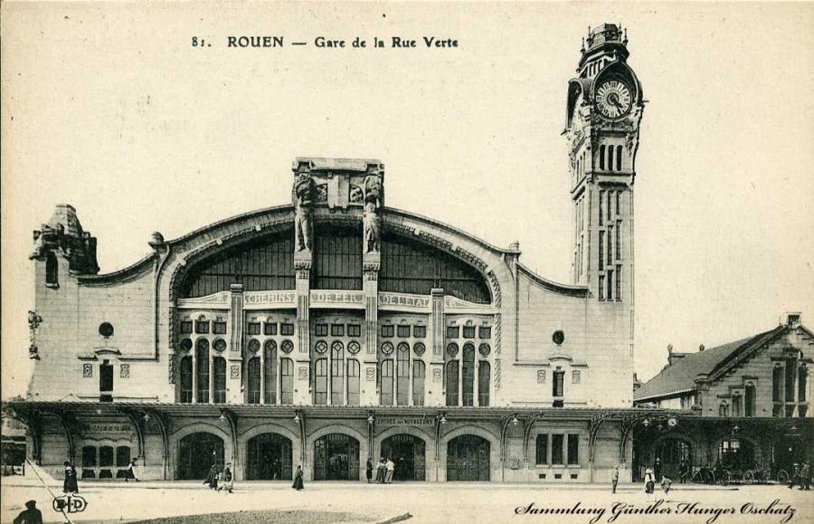 Rouen Gare de la Rue Verte