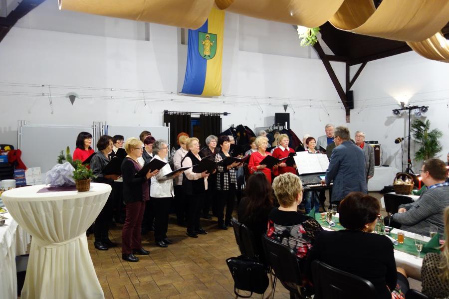 Chor im Bürgersaal
