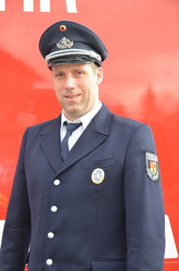 Zugführer Stefan Roß