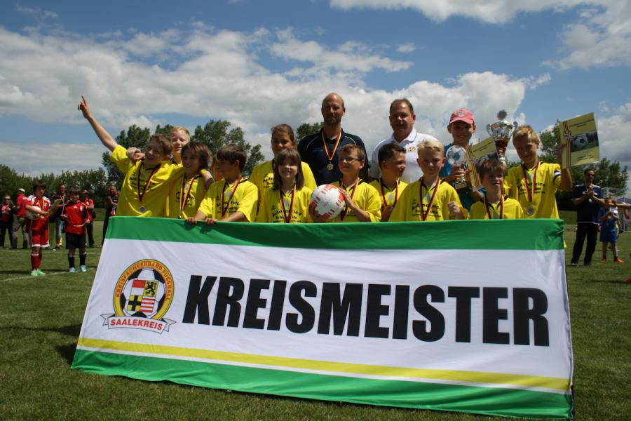 Kreismeister E-Junioren 2014